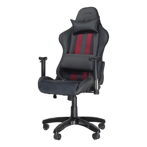 SPEEDLINK Regger Gaming Optimised Chair with 360 Degree Swivel & Lumbar Support, Black