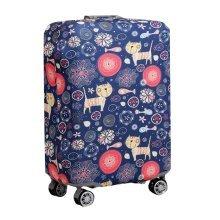 [Cat & Fish] Spandex Luggage Suitcase Elastic Protector Cover