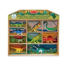Melissa & Doug Dinosaur Party Toy Play Set