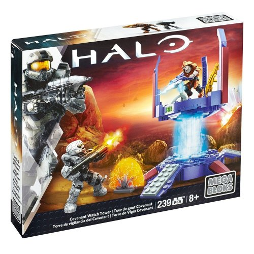 Halo Mega Bloks Covenant Watch Tower Building Set