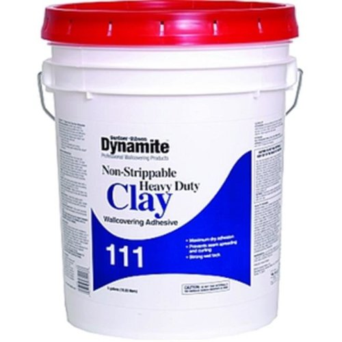Gardner Gibson 3-20-7111 1 Gallon Dynamite 111 Hd Clay Non Strippable Wall-covering Adhesive