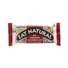 Eat Natural - Cranberry Macadamia & Choc Bar 45g (12 pack)
