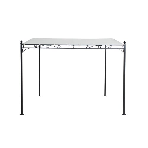 Outsunny 3x3M Deluxe Metal Gazebo - Beige | Metal Pergola With Canopy