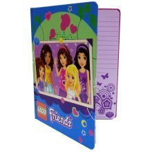 Lego Friends Journal - Pink/green -