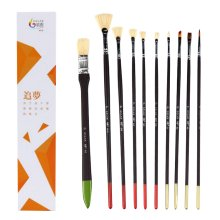 10 Pieces Paint Brushes Set Artist Paint Brushes Painting Supplies #08