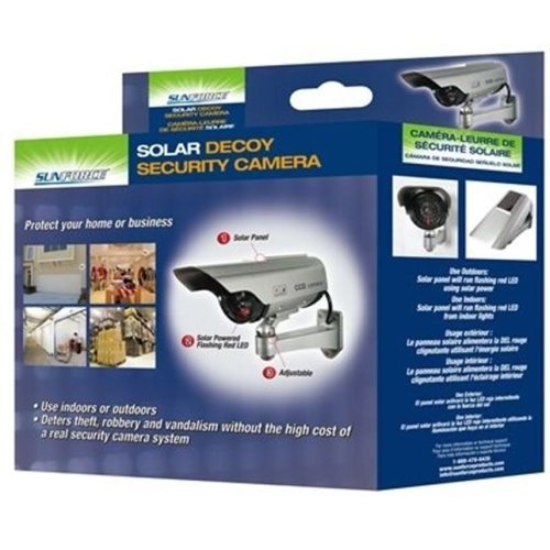 Sunforce Solar Decoy Security Camera 82340 Ssecurity Camera New