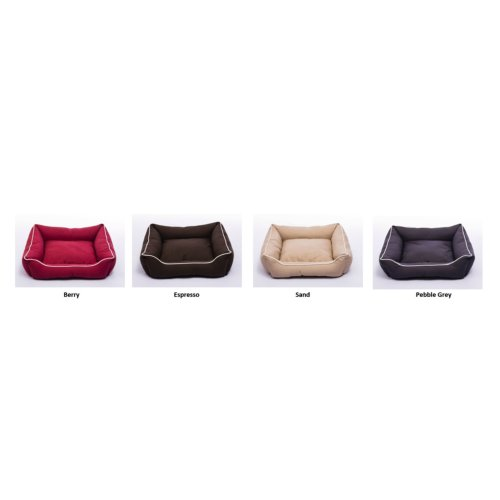 Dog Gone Smart Suede Lounger Bed Red 94x79cm