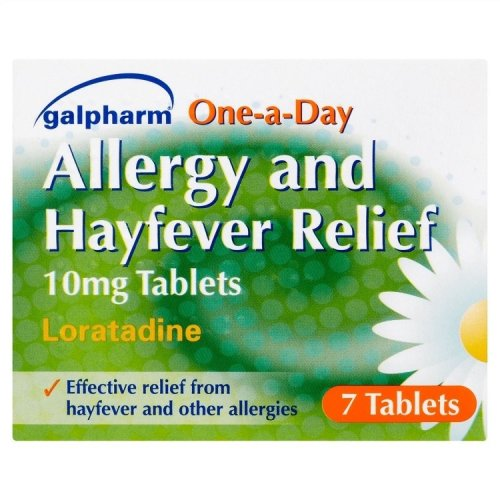 Galpharm Loratadine Allergy & Hayfever Relief 7 Tablets