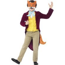 10-12 Years Children's Roald Dahl Fantastic Mr Fox Costume -  book costume fox roald dahl fancy dress mr fantastic day boys week kids outfit