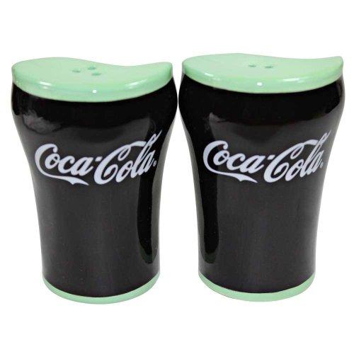 Coca-Cola Ceramic Salt & Pepper Shakers