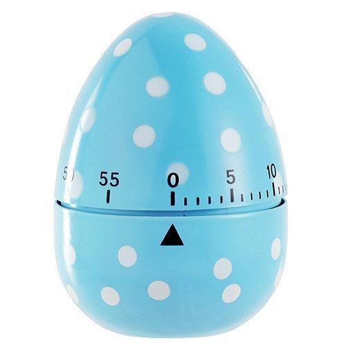 Eddingtons 60 Minute Egg Timer, Blue Spotted - Timer Dotty -  egg timer eddingtons blue 60 spotted dotty