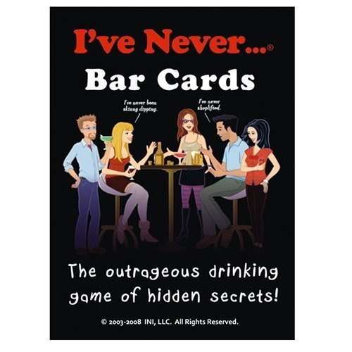 I've Never Bar Card Game - Outrageous Drinking Game of Hidden Secrets This Ga...