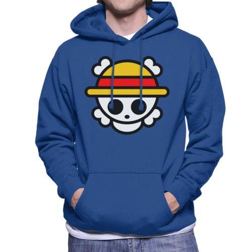 One Piece Logo Chibi Men's Hooded Sweatshirt