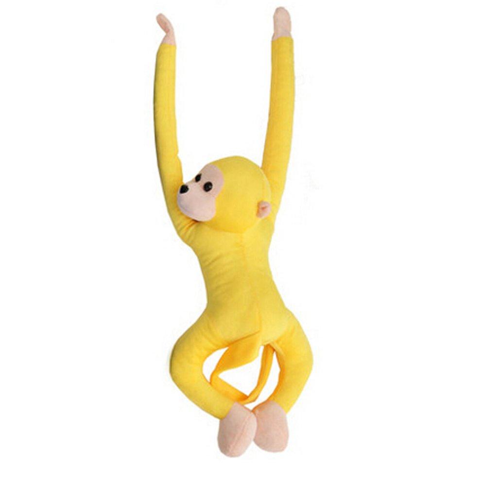 Cute Monkey Plush Puppy Animal Toy Stuffed Animals Plush Toy Yellow