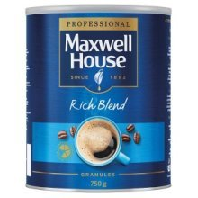 Maxwell House Rich Bland Instant Coffee 750g