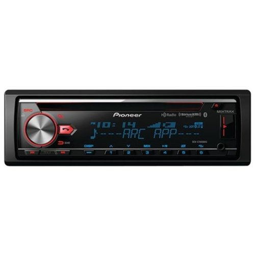 Pioneer PIODEHX7800BHS Single-Din In-Dash CD Receiver with Mixtrax, Bluetooth, HD Radio & Siriusxm Ready