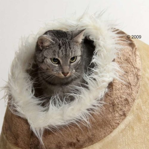 Cosy Cat Cave Den Bed Cuddly