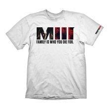 Mafia 3 Family T-Shirt XL Size - White (GAYA-GE6085XL)