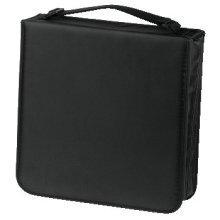 Hama CD Wallet Nylon 208, black 208discs Black