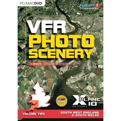 VFR Photo Scenery for X-Plane 10 Volume 2 (PC/Mac DVD)
