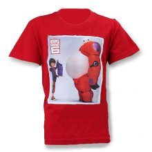 Big Hero 6 Baymax T Shirt - Red