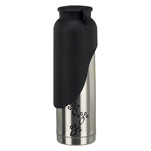 Thermos Flask 500ml With Drinking Bowl Dimensions: Art. 24608 - Trixie Dogs -  trixie drinking bowl dogs thermoflasche 500ml 24608 bottle go thermos