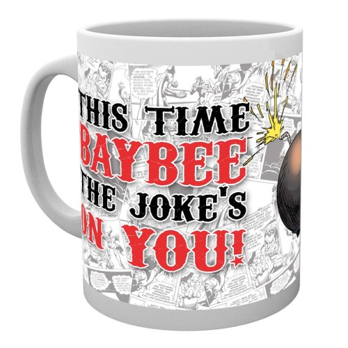 Batman Comics Harley Quinn Jokes on You Mug