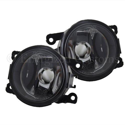 Peugeot 207 2006-5/2010 Front Fog Light Lamps 1 Pair O/s & N/s