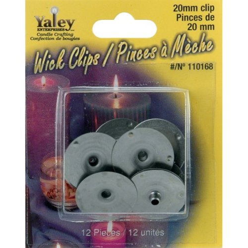 Candle Wick Clips 12/Pkg-20mm