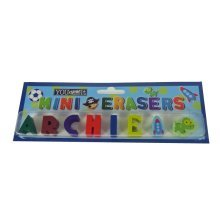Childrens Mini Erasers - Archie
