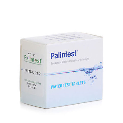 Palintest Phenol Red Rapid Dissolve Tablets (100) - Type: 100 per pack