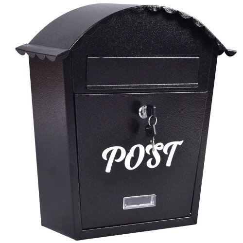 Exlarge Lockable Mailbox Post Letter Box