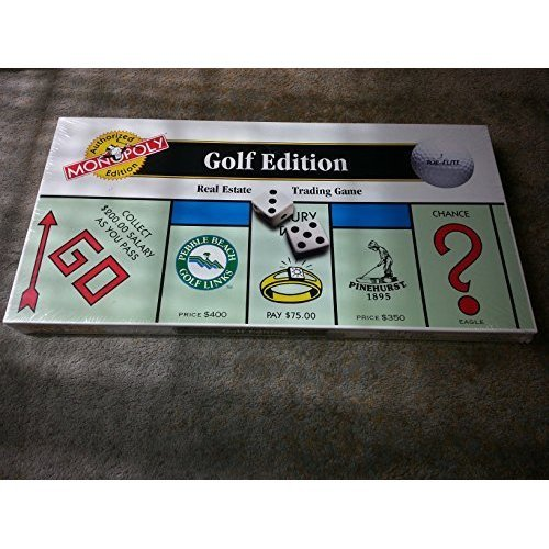 The GOLF EDITION of the MONOPOLY Game