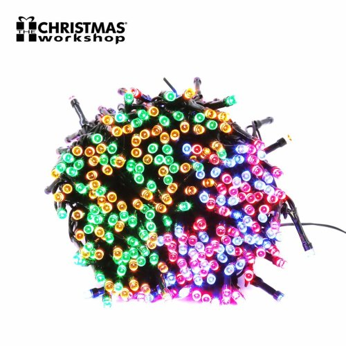 The Christmas Workshop 480 LED String Lights, Multi-Colour