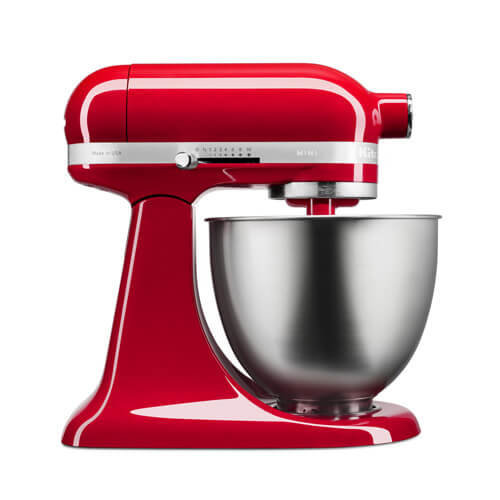 KitchenAid Empire Red Mini Mixer