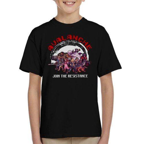 Avalanche Join The Resistance Final Fantasy VII Kid's T-Shirt