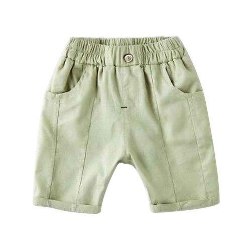 Baby Boy Short Pants Cute Short Pants for Summer Suitable for 130cm [D]