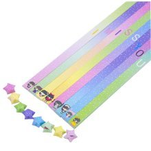 Package 365 Sheets Origami Lucky Star Papers