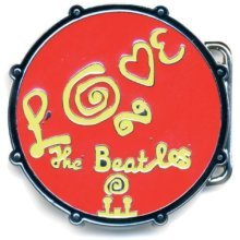 Loud Distribution - The Beatles Boucle De Ceinture Love Drum Rouge