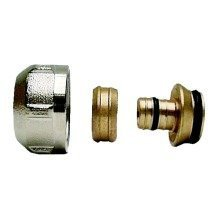 """3/4"""" to 16mm Pex Pipe Compression Fitting Adaptor Connector - 10 Pack"""