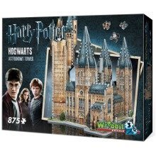 Wrebbit Hogwarts Astronomy Tower 3d Jigsaw Puzzle (875 Pieces)