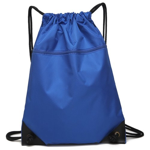 Drawstring Bag Unisex Gym Bag Sport Rucksack Shoulder Bag Hiking Backpack #7