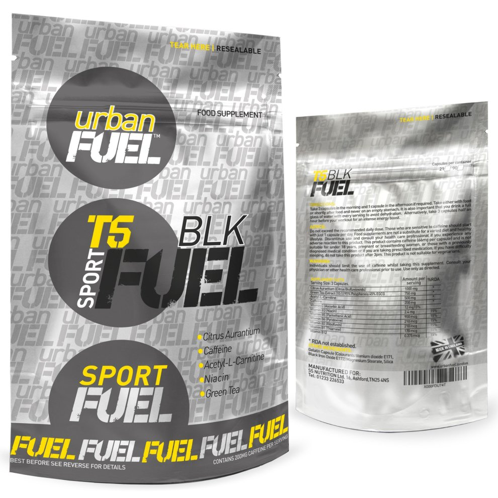 T5 Blk Fat Burners By Urban Fuel Strong T5 Diet Pills Weight Loss Strongest T5 Black Fat Burner 2700mg Per Serving