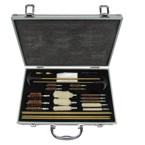 TOURBON Universal Multi Aluminum Gun Cleaning Kit Case for Rifle Pistol Handgun Shotgun