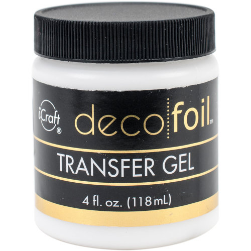 Deco Foil Transfer Gel 4Fl Oz-