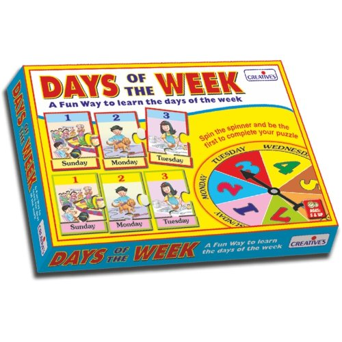 Cre0696 - Creative Pre-school - Days of the Week