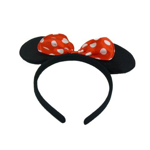Trixes Girls Minnie Mouse headband