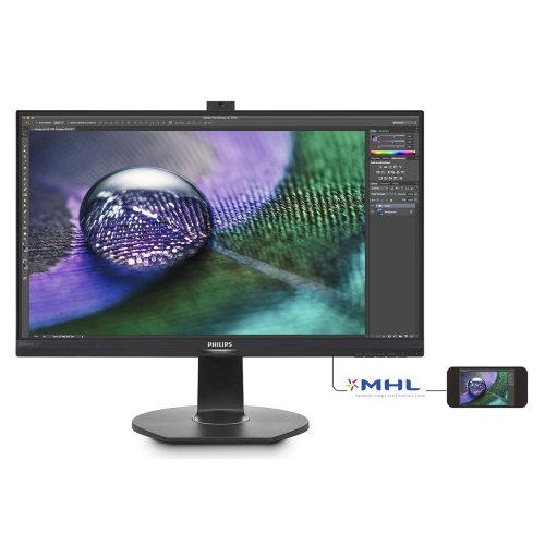 Philips 272P7VPTKEB 27In Widescreen 4K Monitor -DP HDMI VGA