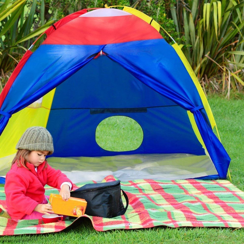 ... WolfWise Colorful Play Tent With Rain Cover for Kids Children Indoor Outdoor Use120x150x150cm - 7 ... & WolfWise Colorful Play Tent With Rain Cover for Kids Children Indoor ...