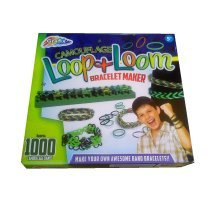 Camouflage Loop & Loom Bracklet Maker By Grafix